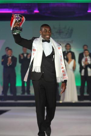 Vaughan Bailey, winner of Mr England 2010