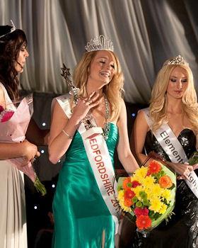 Miss Bedfordshire 2011: Georgia Stanwix