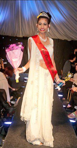 Selina Raj - Miss Charity 2013